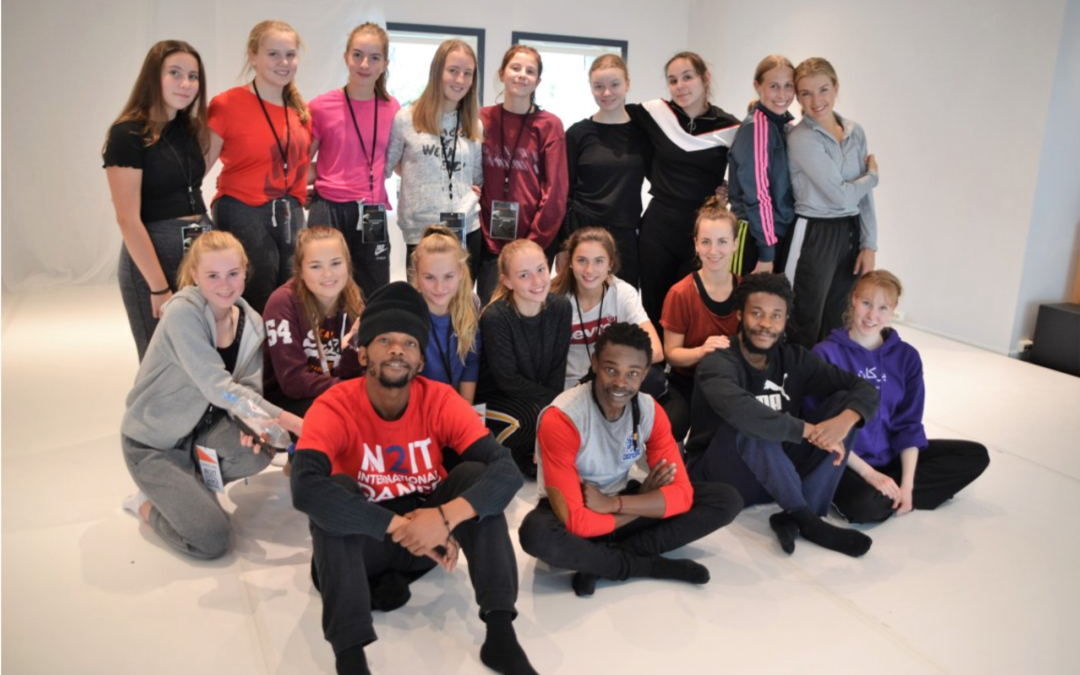Ungdomskompani på In2iT Dansefestival